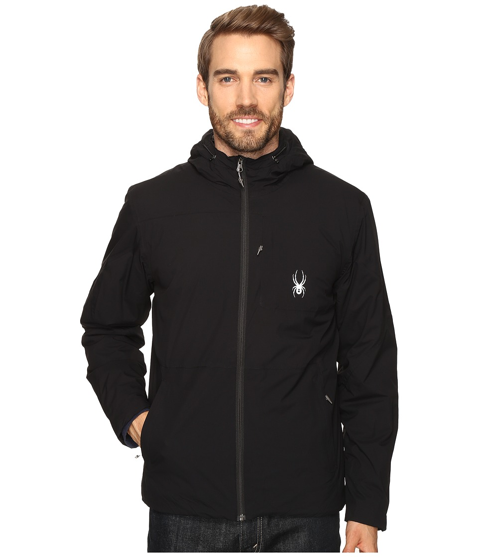 Spyder - Berner Jacket (Black/Black/Black) Men's Jacket