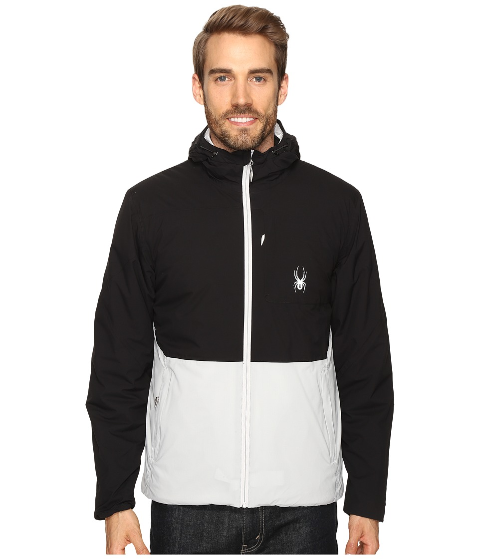 Spyder - Berner Jacket (Cirrus/Black/Cirrus) Men's Jacket