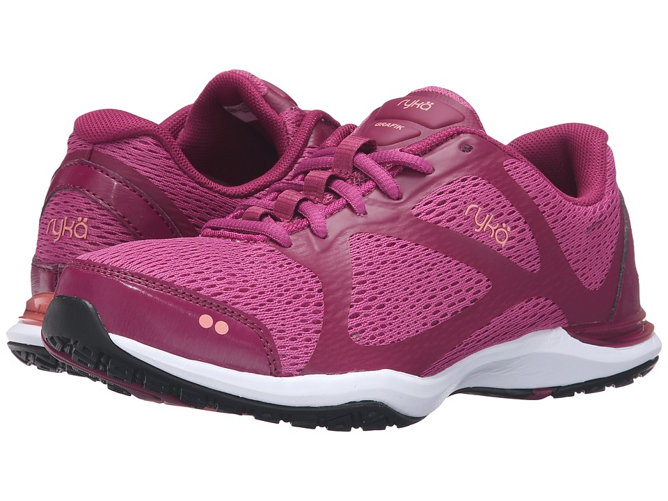 Ryka - Grafik (Bougainvillea/Raspberry Radiance/Peach Amber) Women's Shoes
