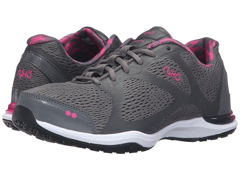 Ryka - Grafik (Iron Grey/Athena Pink/Black) Women's Shoes