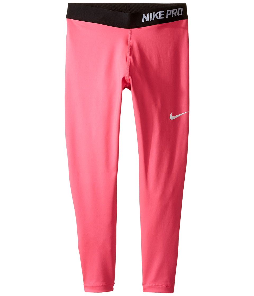 Nike Kids - Pro Cool Training Capri (Little Kids/Big Kids) (Hyper Pink/Hyper Pink/Black/White) Girl's Casual Pants