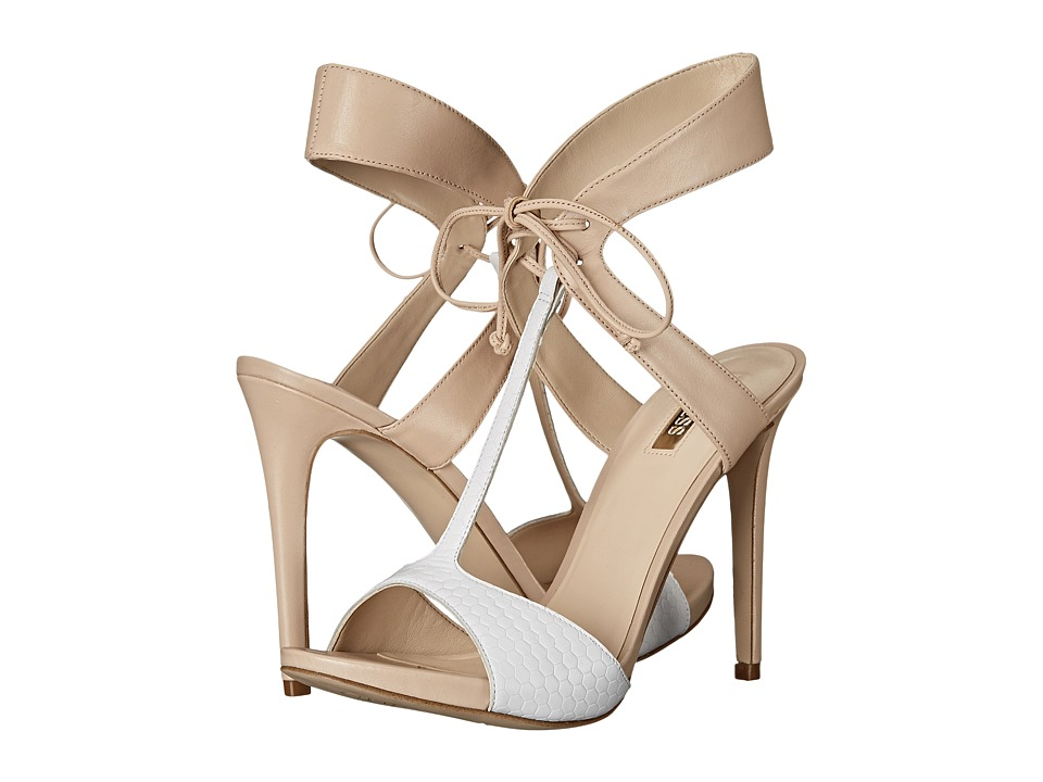 GUESS - Alexes (Nude Leather) High Heels