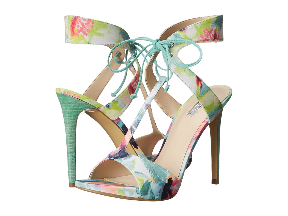 GUESS - Alexes (Floral Fabric) High Heels