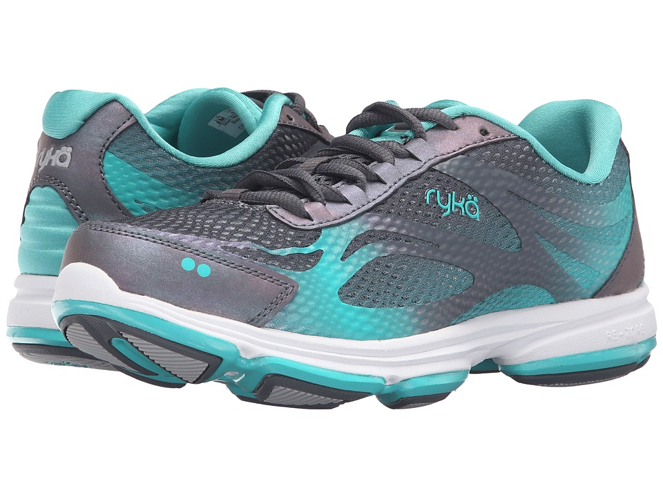 Ryka Devotion Plus 2 (Iron Grey/Teal Blast/Chrome Silver) Women