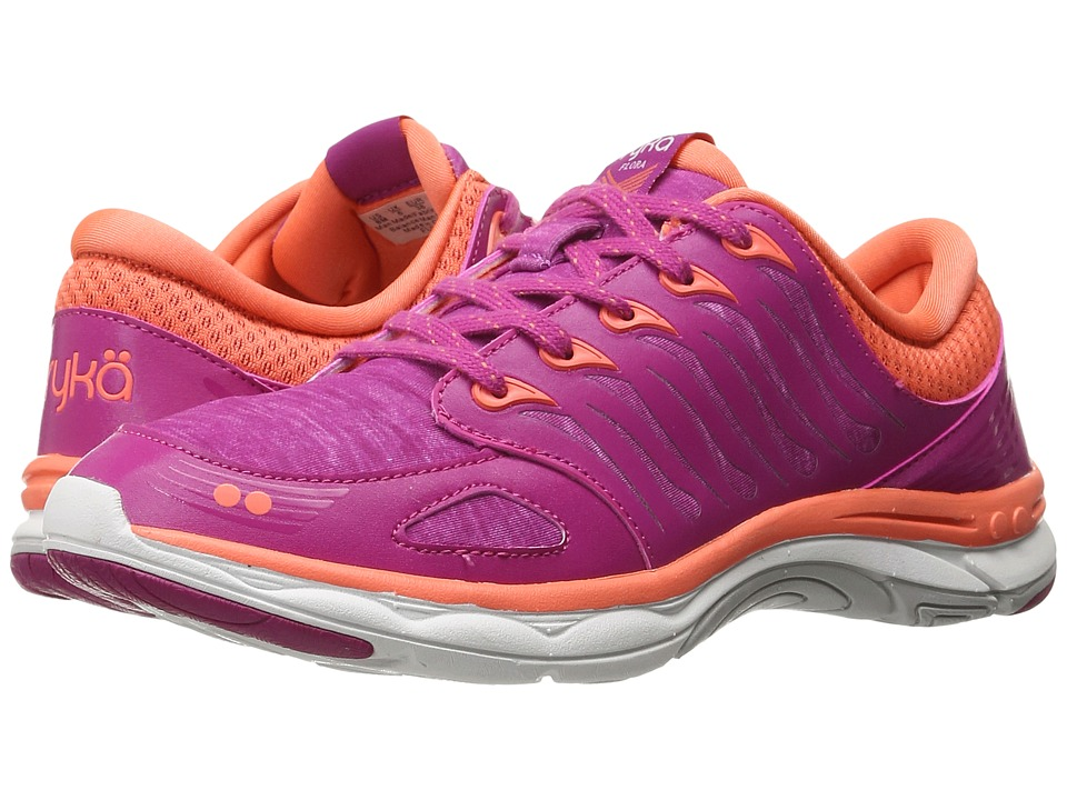 Ryka - Flora (Bogainvillea/Fusion Coral/White) Women's Shoes