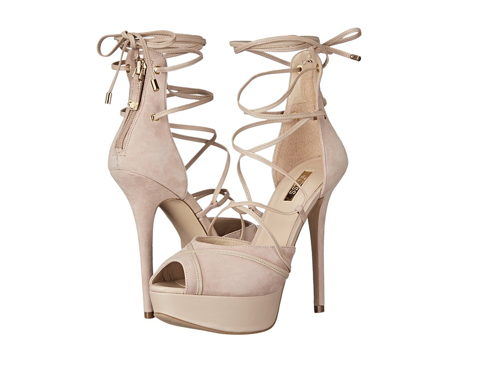 GUESS - Raja (Natural Suede) High Heels