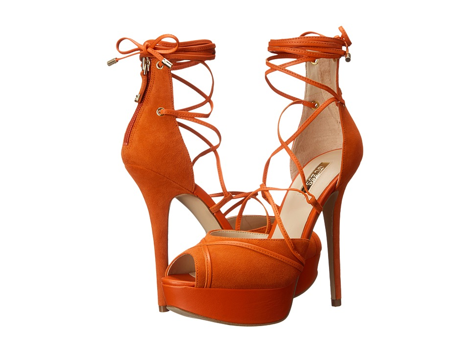 GUESS - Raja (Coral Suede) High Heels
