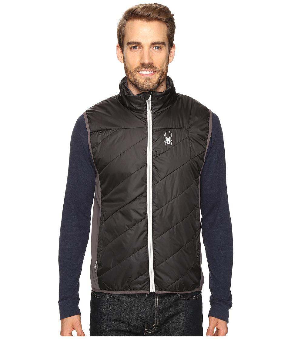 Spyder - Exit Insulator Vest (Black/Polar/Cirrus) Men's Vest