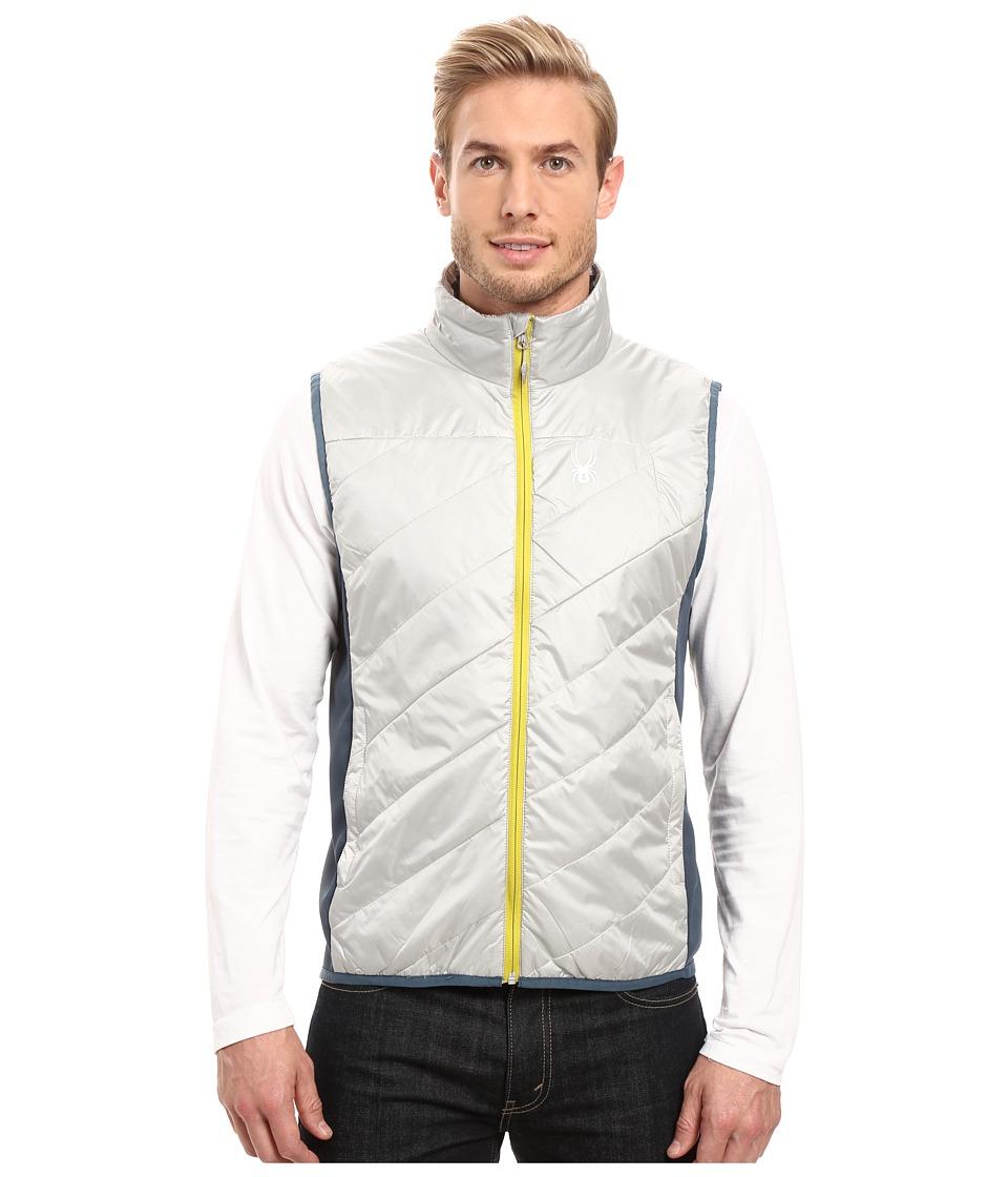 Spyder - Exit Insulator Vest (Cirrus/Union Blue/Sulfur) Men's Vest