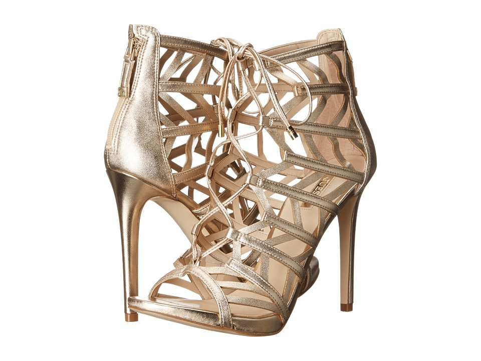 GUESS Anasia (Gold Synthetic) High Heels