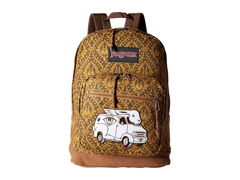 JanSport - Right Pack Street (Multi Jeremy Fish) Backpack Bags