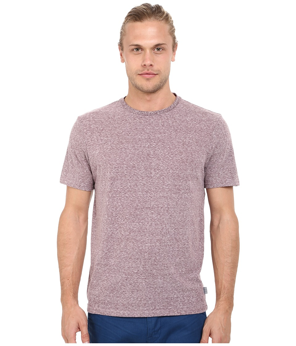 Threads 4 Thought - Baseline Tri-Blend Crew Tee (Oxblood) Men's T Shirt