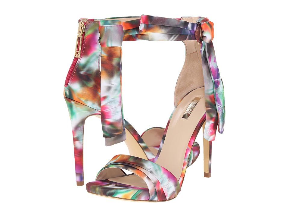 GUESS - Allen (Pink Fabric) High Heels