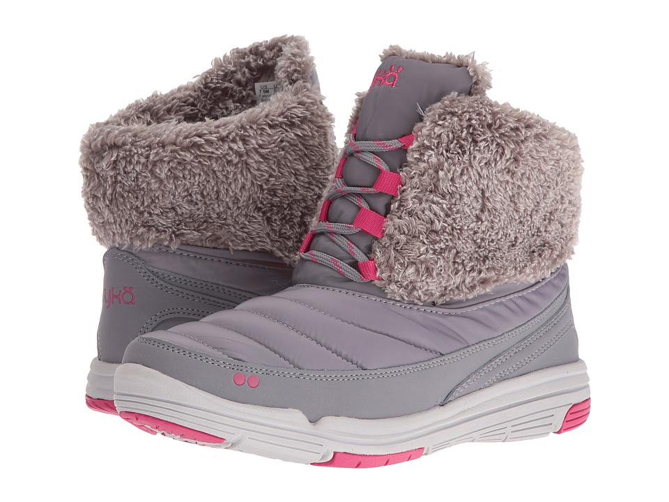 Ryka Addison (Forst Grey/Fuchsia Purple/Vapor Grey) Women