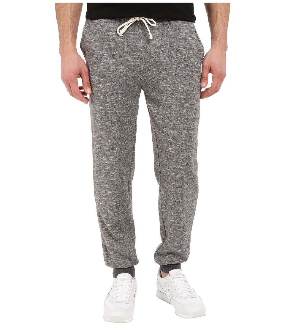 Threads 4 Thought - Marled Terry Jogger (Charcoal) Men's Casual Pants