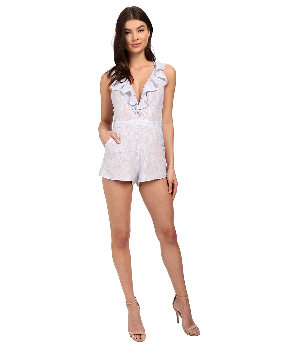 The Jetset Diaries - Wanderlust Romper (Lavender) Women's Jumpsuit & Rompers One Piece