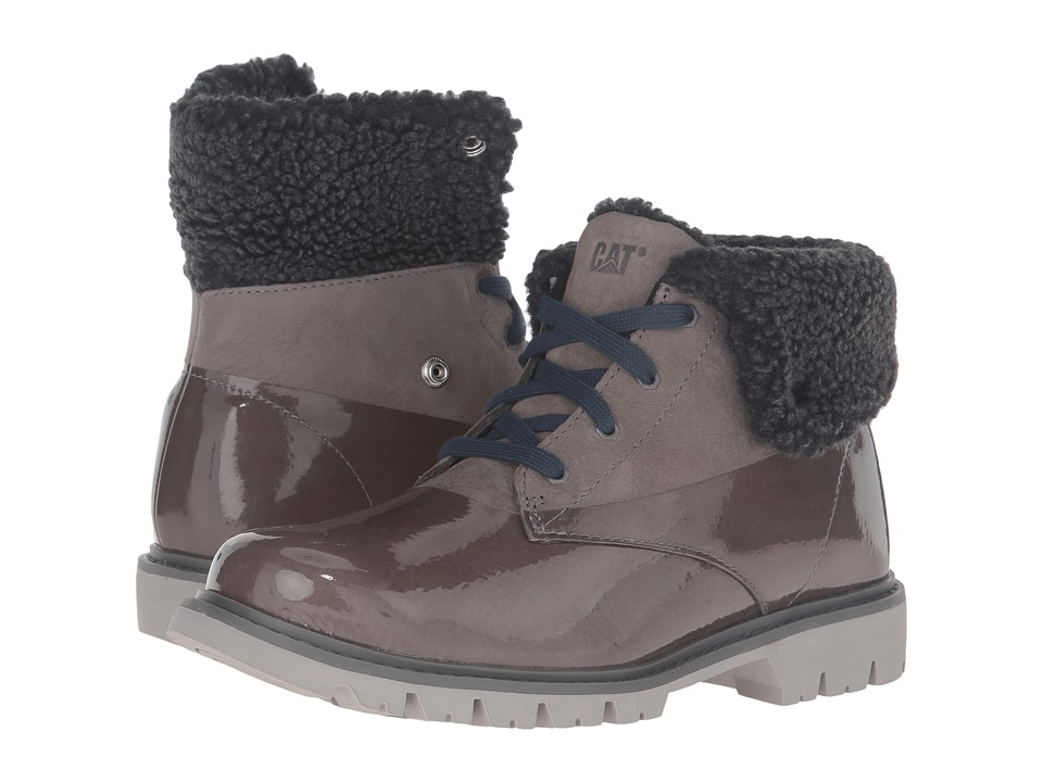 Caterpillar Casual - Hub Fur (Medium Charcoal) Women's Work Boots