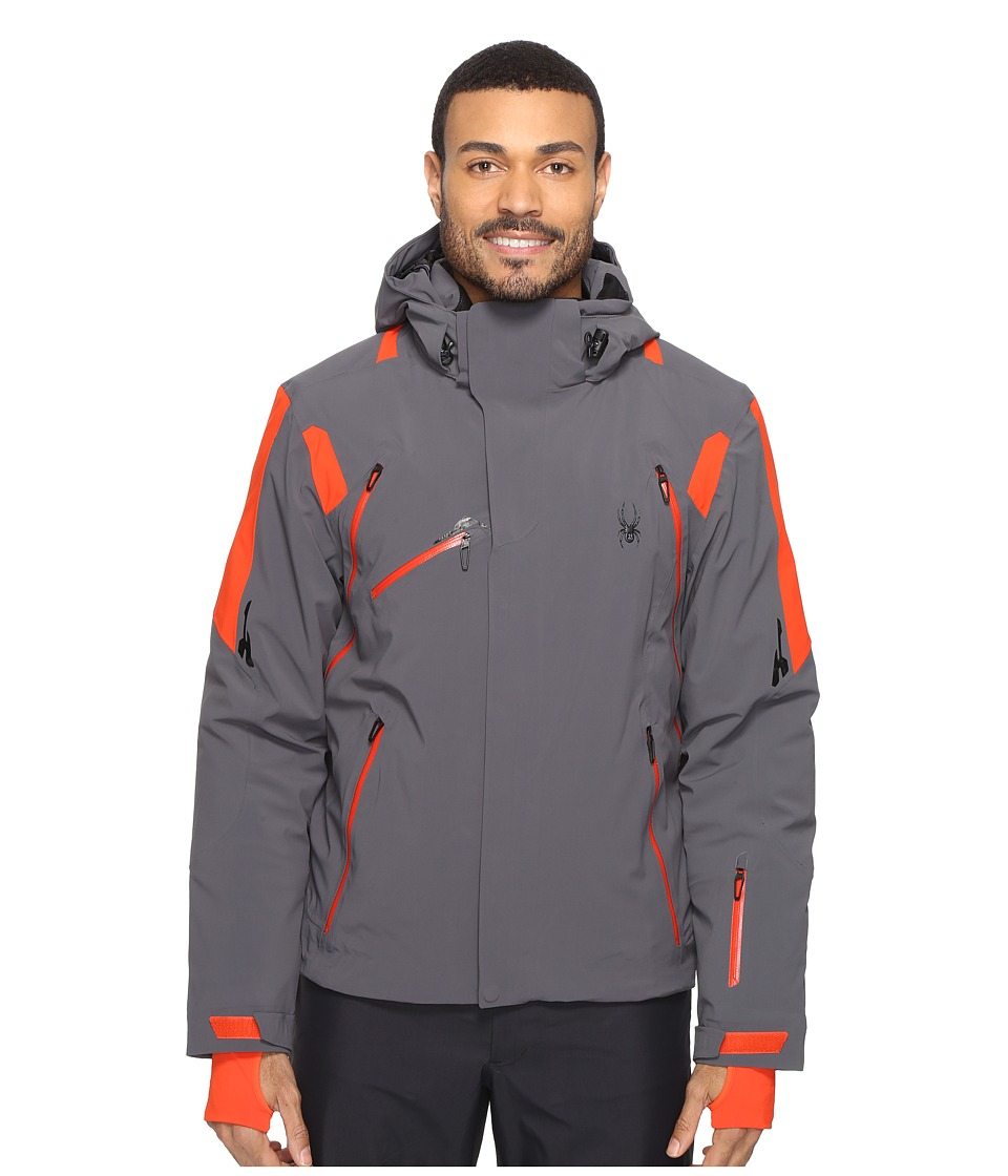 Spyder - Garmisch Jacket (Polar/Rage/Rage) Men's Coat