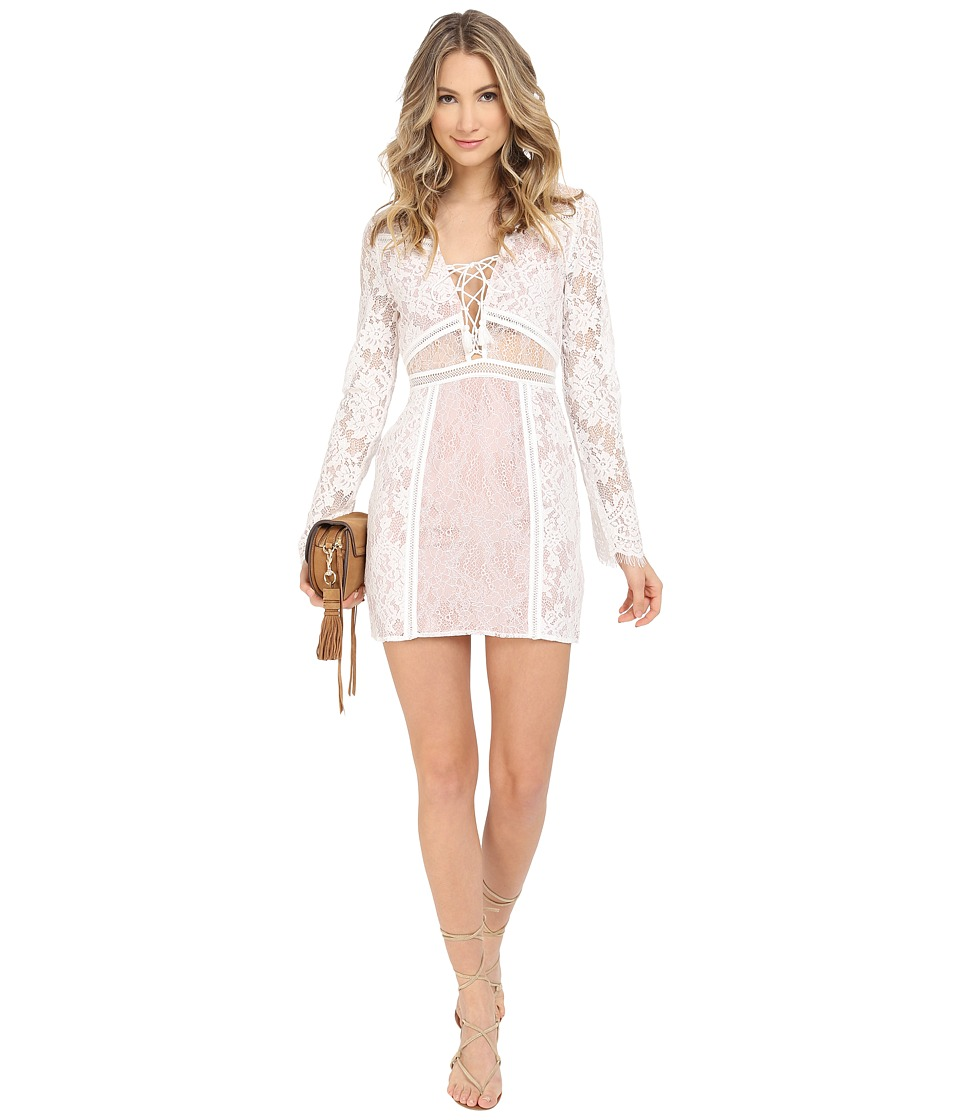 The Jetset Diaries - Seminyak Mini Dress (Ivory) Women's Dress
