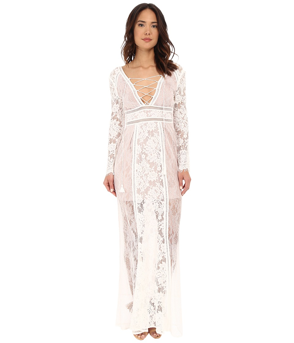The Jetset Diaries - Seminyak Maxi Dress (Ivory) Women's Dress
