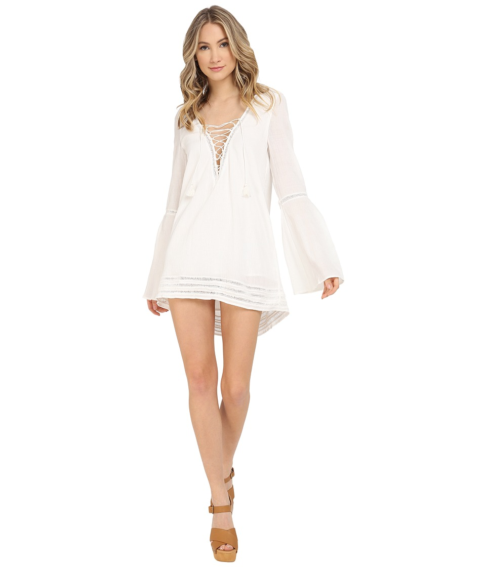The Jetset Diaries - Morning Swim Tunic (Ivory) Women's Clothing