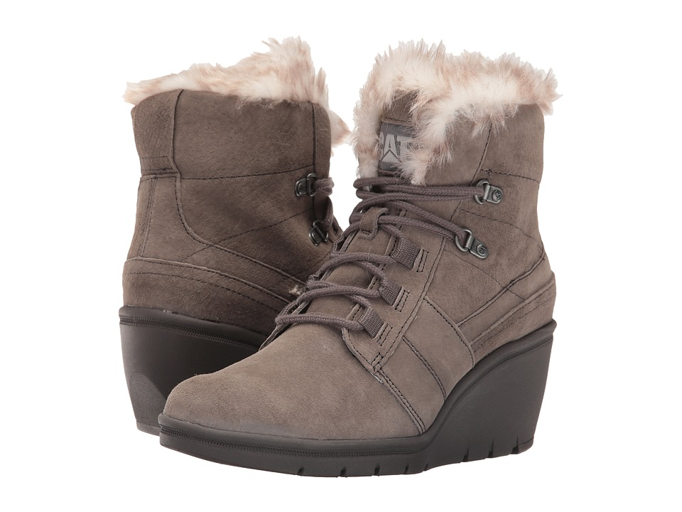 Caterpillar Casual - Harper Fur Waterproof (Gunsmoke) Women's Boots