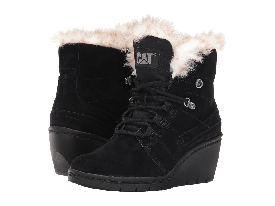 Caterpillar Casual - Harper Fur Waterproof (Black) Women's Boots