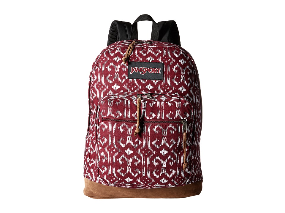 JanSport - Right Pack Expressions (Russet Red/Moroccan Ikat) Backpack Bags