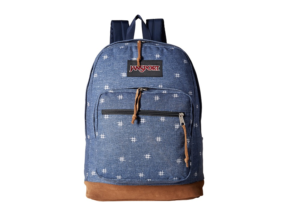 JanSport - Right Pack Expressions (Turkish Ocean/Hashtag Doodad) Backpack Bags