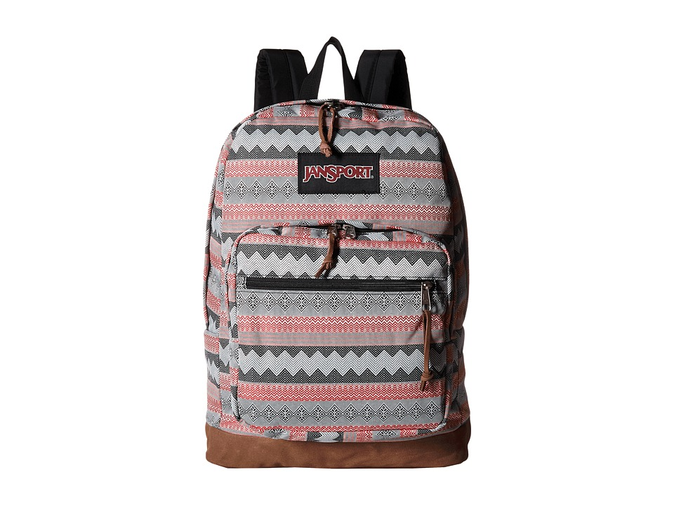 JanSport - Right Pack Expressions (Viking Red Folk Brocade) Backpack Bags