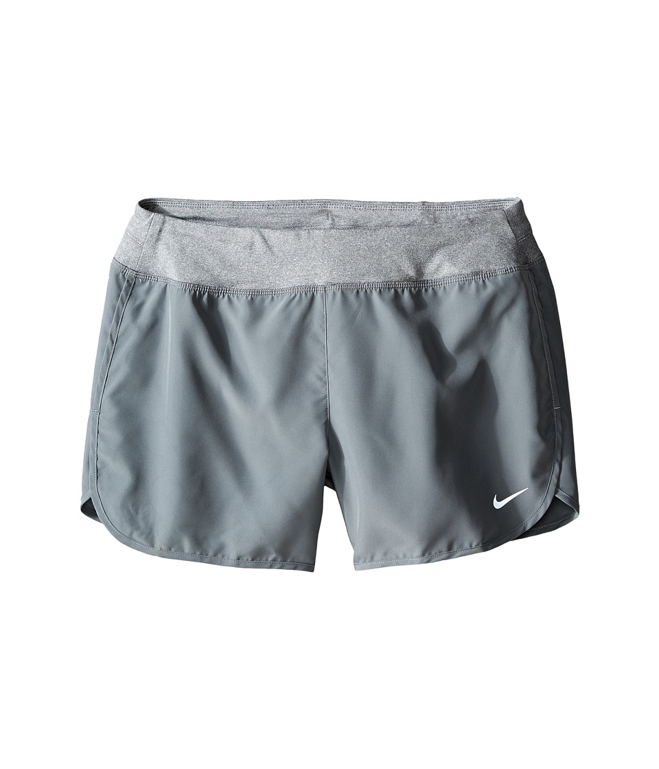 Nike Kids - Dry 3 Running Short (Little Kids/Big Kids) (Cool Grey/Cool Grey/Reflectove Silver) Girl's Shorts