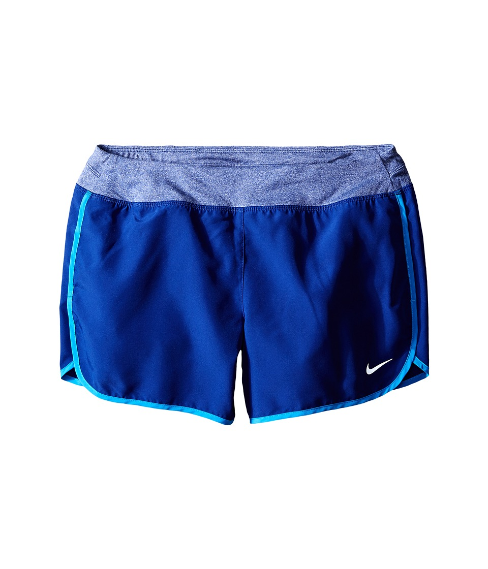 Nike Kids - Dry 3 Running Short (Little Kids/Big Kids) (Deep Royal Blue/Reflective Silver) Girl's Shorts