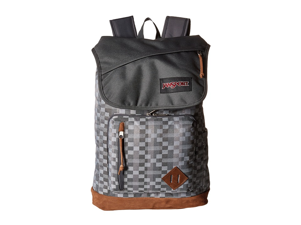JanSport - Hensley (Forge Grey Kente) Backpack Bags