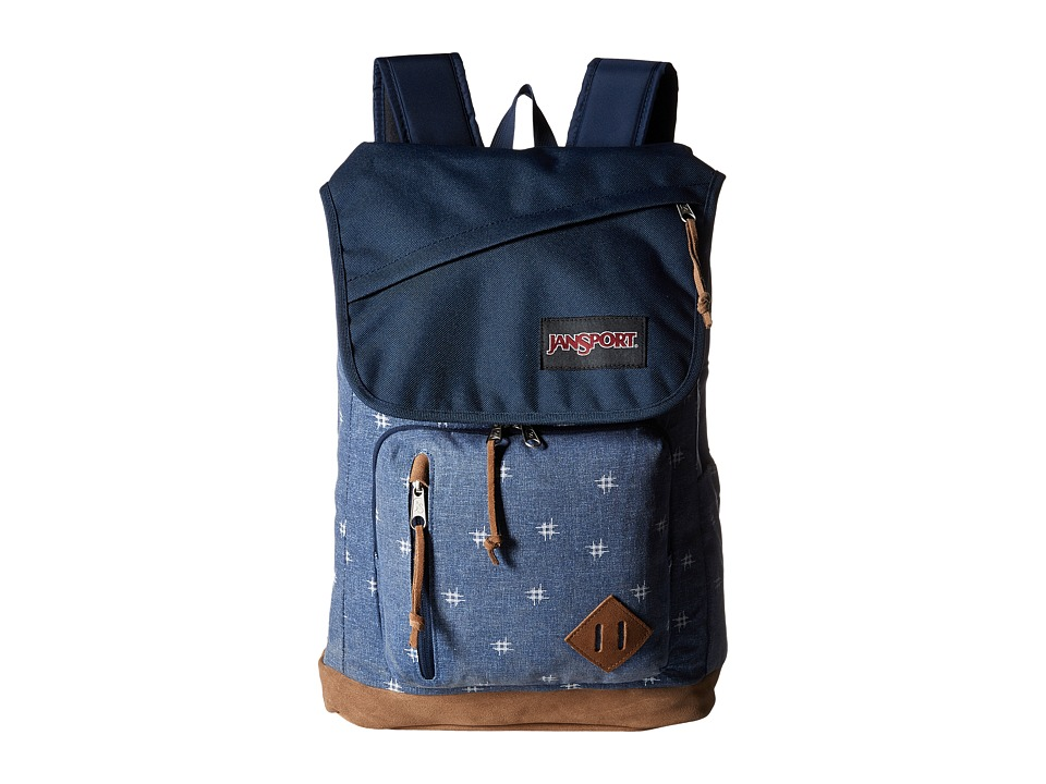 JanSport - Hensley (Turkish Ocean/Hashtag Doodad) Backpack Bags