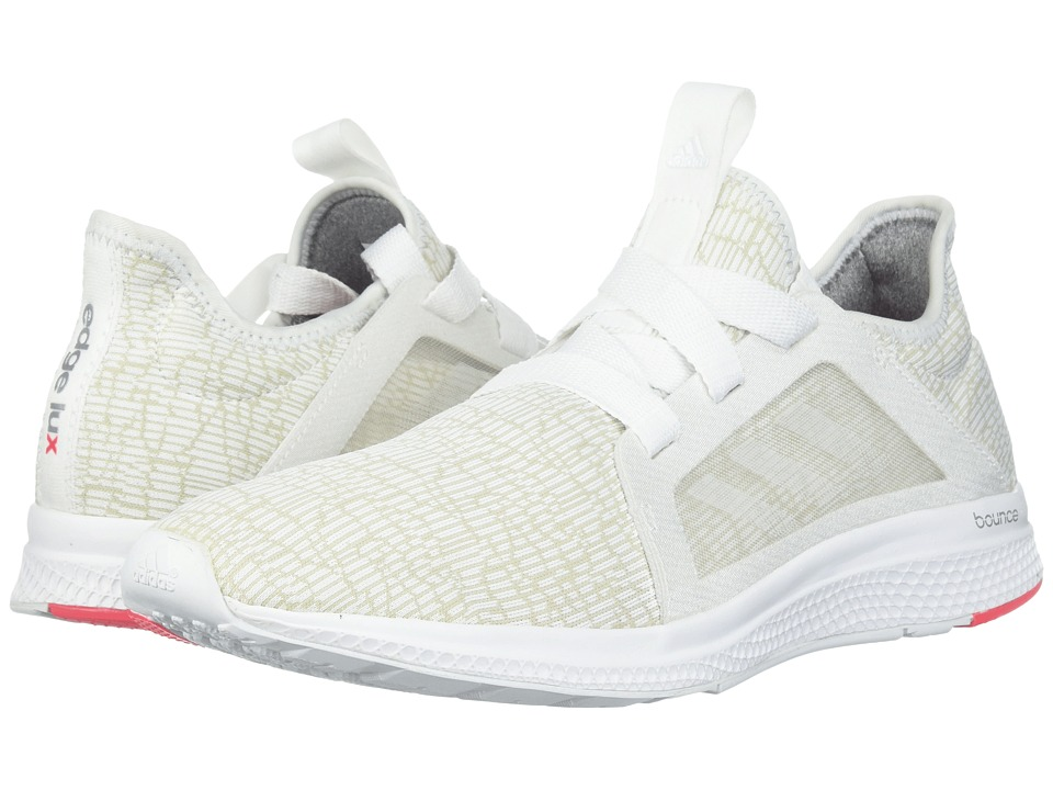 adidas Running - Edge Bounce Runner (Footwear White/Crystal White/Shock Red) Women's Shoes