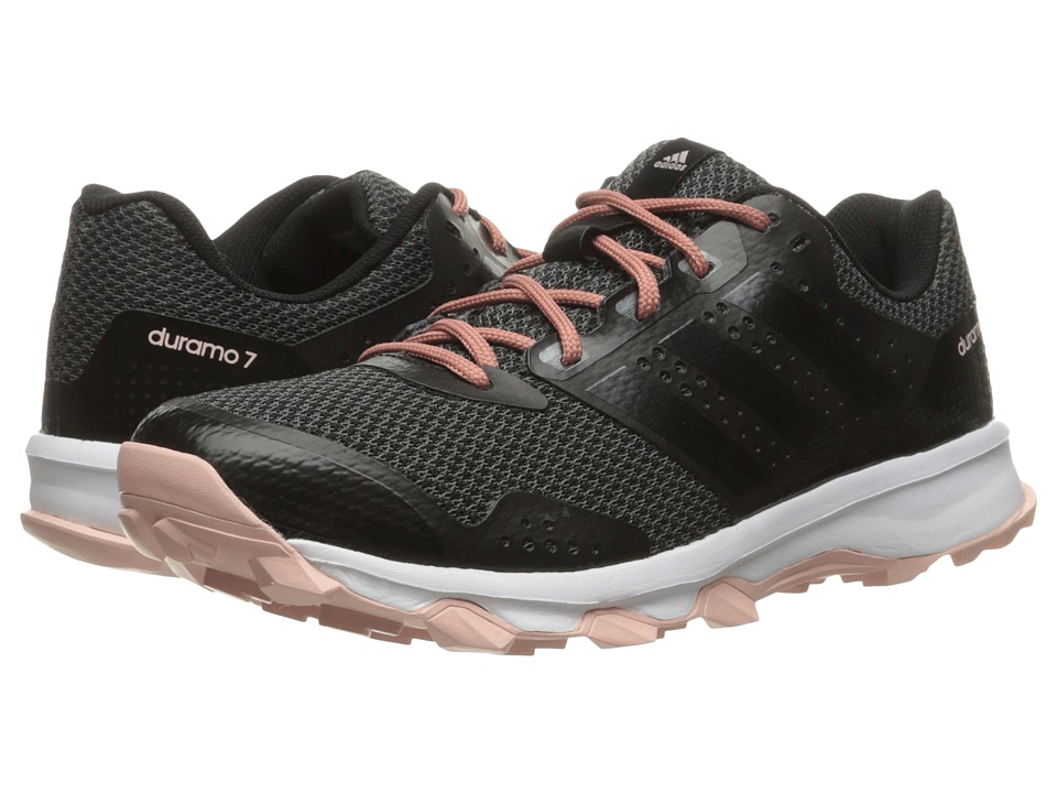 adidas - Duramo 7 Trail (Utility Black/Core Black/Vapour Pink) Women's Running Shoes
