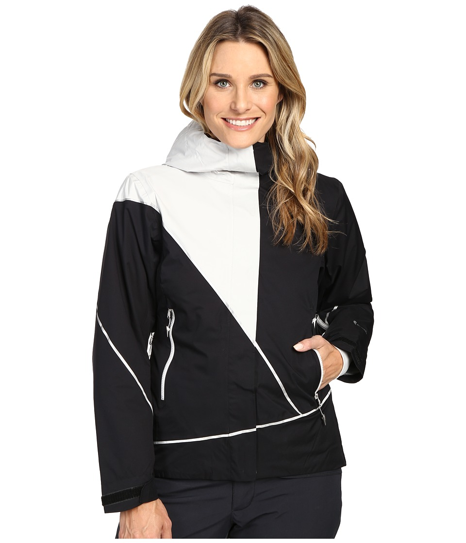Spyder - Pryme Jacket (Black/Freeze) Women's Coat