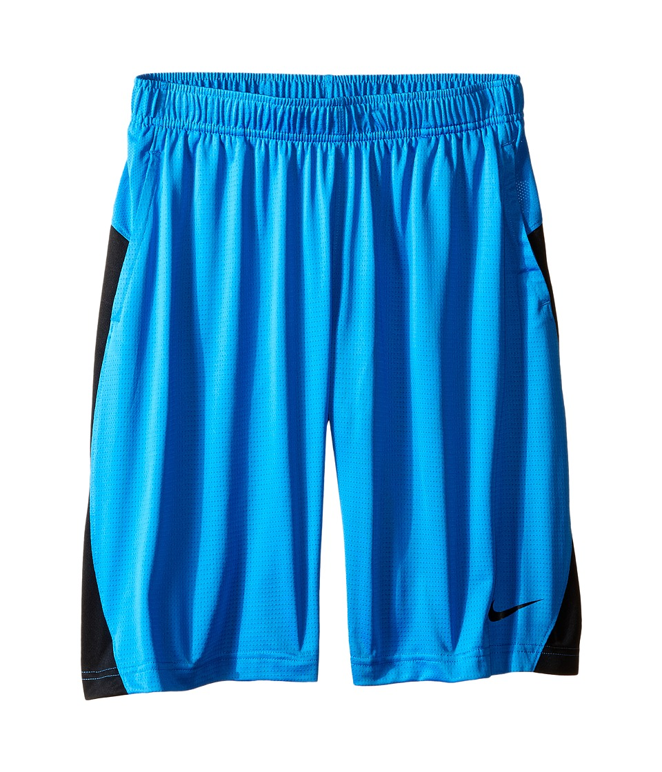 Nike Kids - Essential Short (Little Kid/Big Kid) (Light Photo Blue/Black/Black) Girl's Shorts