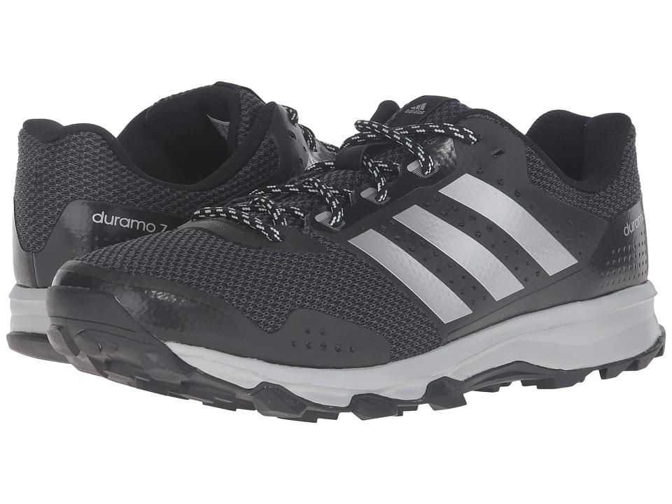 adidas - Duramo 7 Trail (Black/Silver Metallic/Clear Onix) Men's Shoes