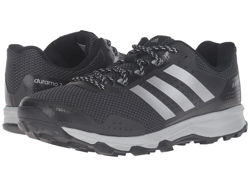 adidas Duramo 7 Trail (Black/Silver Metallic/Clear Onix) Men