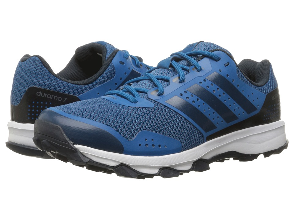 adidas - Duramo 7 Trail (Tech Steel/Tech Steel/Footwear White) Men's Shoes