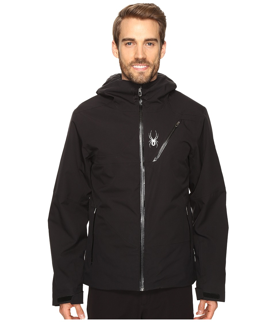 Spyder - Enforcer Jacket (Black/Black/Black) Men's Coat