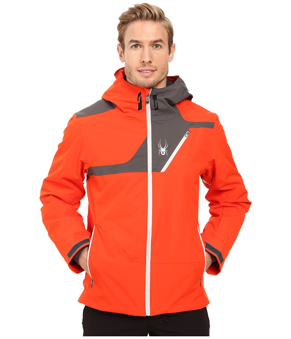 Spyder - Enforcer Jacket (Rage/Polar/Cirrus) Men's Coat