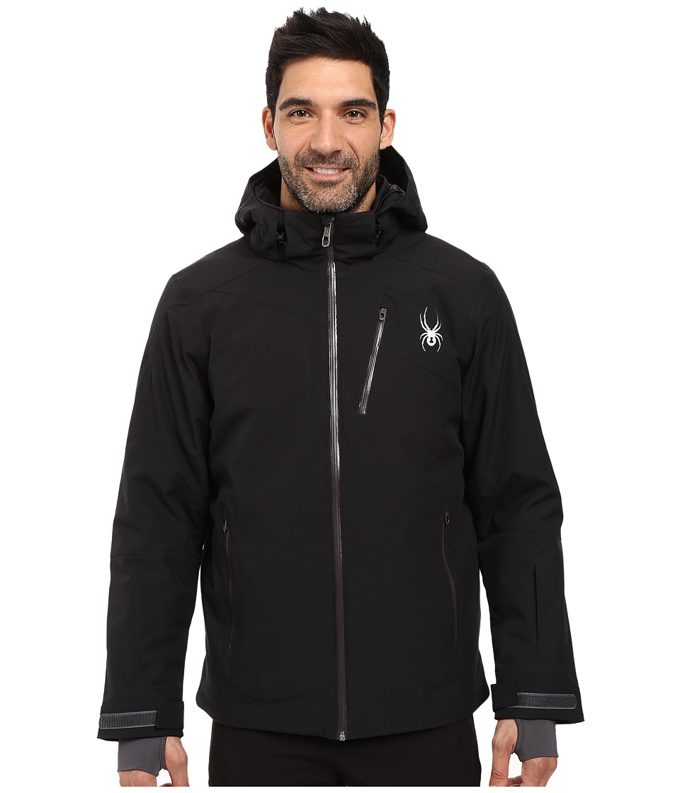 Spyder - Chambers Jacket (Black/Black/Polar) Men's Coat
