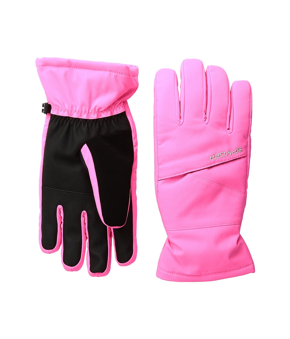 Spyder Kids - Astrid Ski Gloves (Big Kids) (Bryte Bubblegum) Ski Gloves