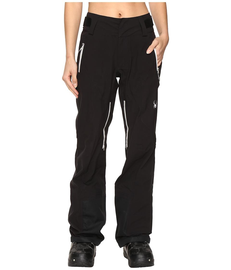 Spyder - Turret Shell Pants (Black) Women's Outerwear