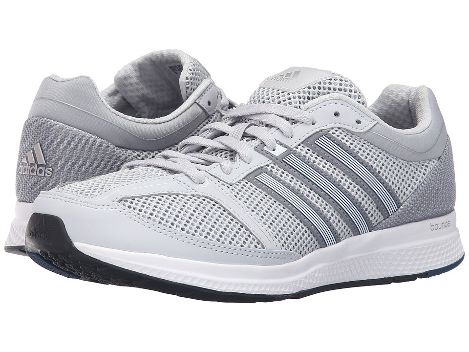adidas Running - Mana RC Bounce (Clear Grey/Footwear White/Grey) Men's Shoes