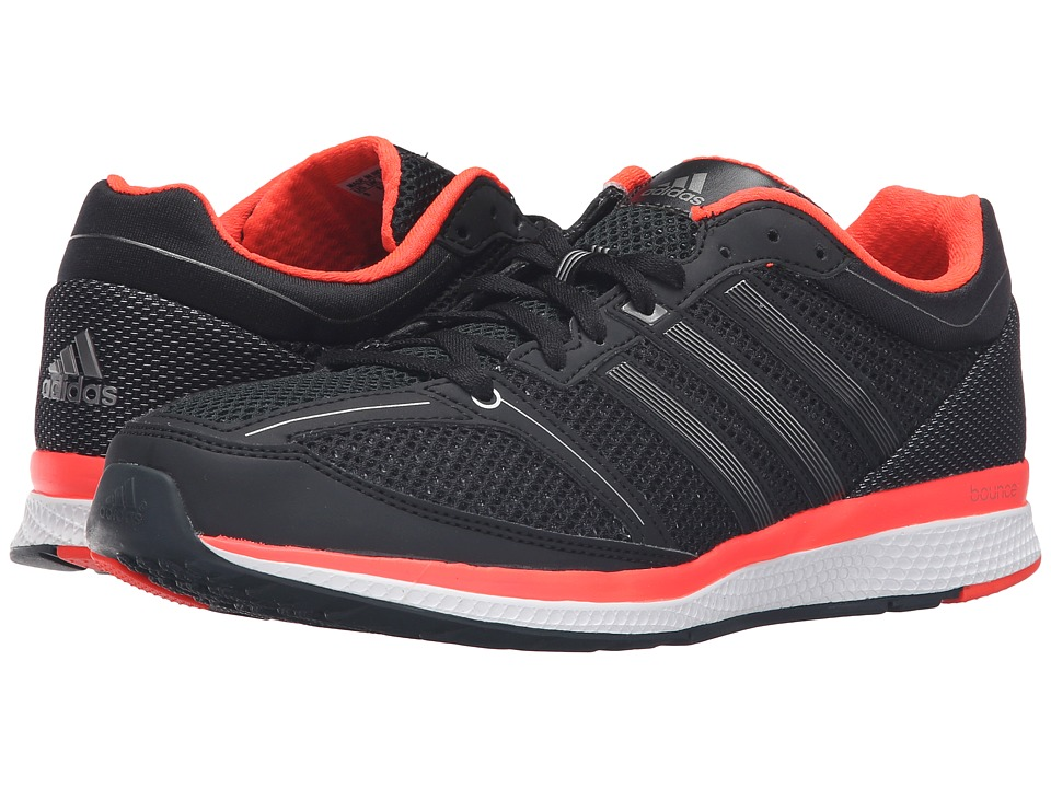 adidas Running - Mana RC Bounce (Core Black/Iron Metallic/Solar Red) Men's Shoes