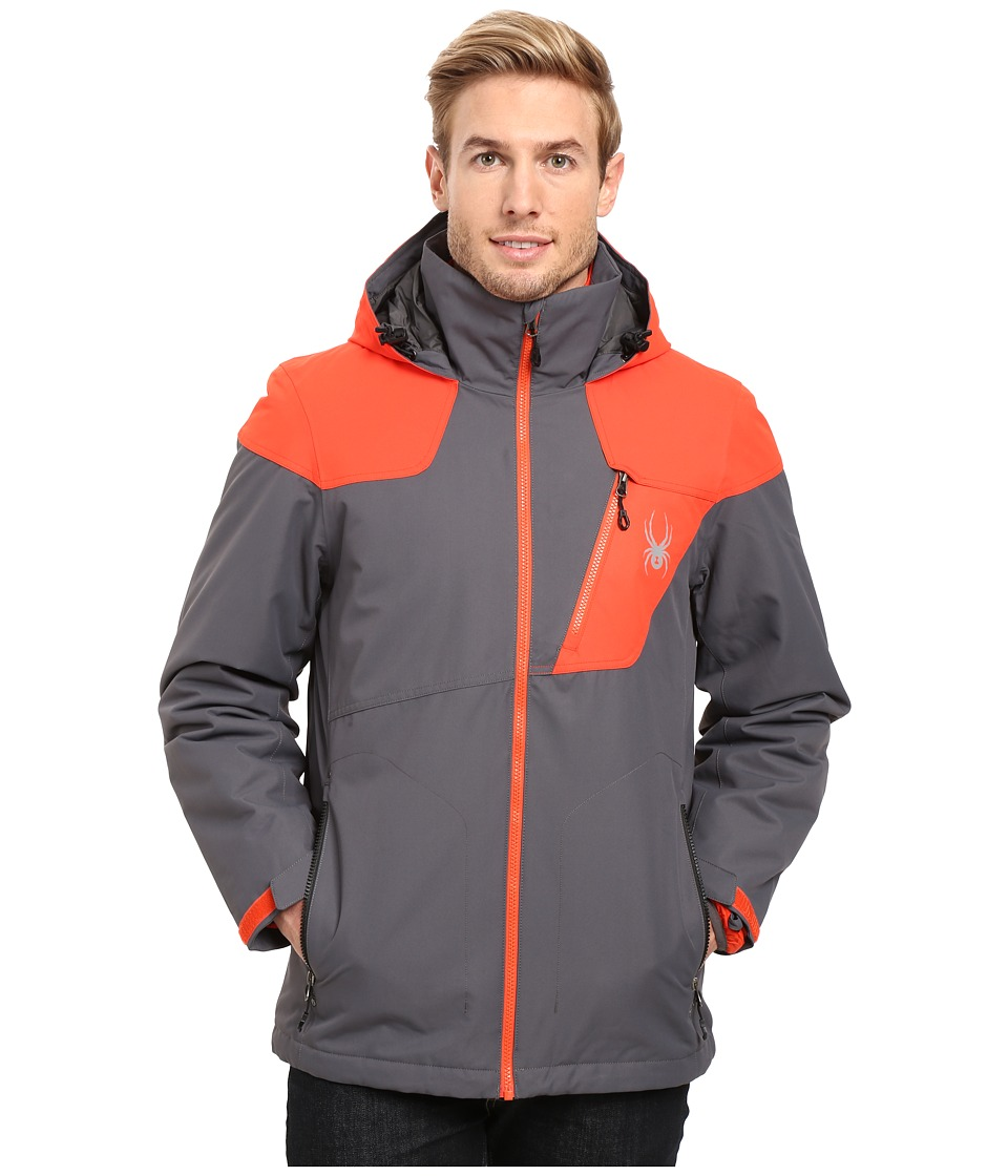 Spyder - Lynk 3-in-1 Jacket (Polar/Rage/Black) Men's Coat