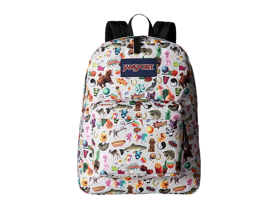 JanSport - SuperBreak(r) (Multi Stickers) Backpack Bags